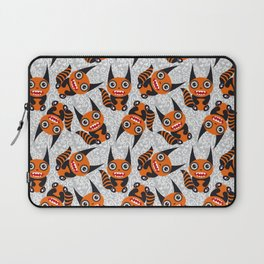 Funny orange monster Laptop Sleeve