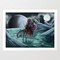 StarChaser Art Print