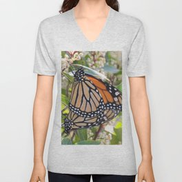 Love in the Air - Monarch Style Unisex V-Neck