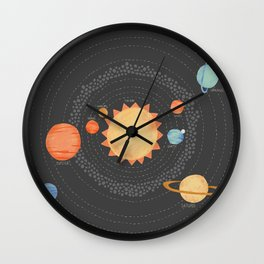 Our Solar System Wall Clock