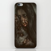 gore iPhone & iPod Skins featuring Gore Girl by rob_benevides_fx
