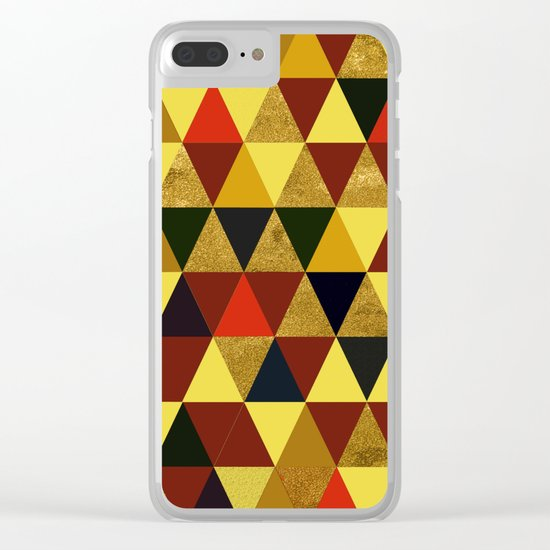 Abstract #336 Clear iPhone Case