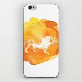 Color Spot Safari Lion iPhone Skin