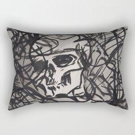 ...static (Ellipsis series) Rectangular Pillow