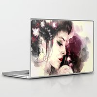 geisha Laptop & iPad Skins featuring Geisha by Vincent Vernacatola
