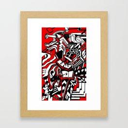 ducktism Framed Art Print