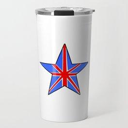 Flag of UK 14- London,united kingdom,england,english,british,great britain,Glasgow,scotland,wales Travel Mug