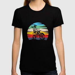 Motocross Girl Motocross Machine Motorcycle T-shirt