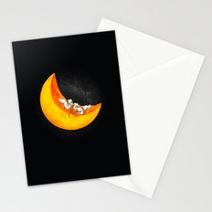 Mice & Moon Stationery Cards