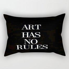 No Rules Rectangular Pillow