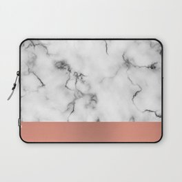 Marble & copper Laptop Sleeve