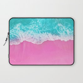 Pink Beach Laptop Sleeve