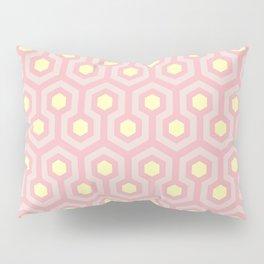 Peony, blush, and buttercup yellow geometric pattern Pillow Sham