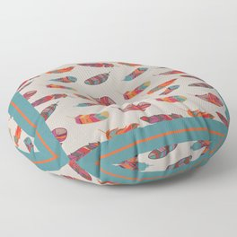 Fall Feathers Floor Pillow