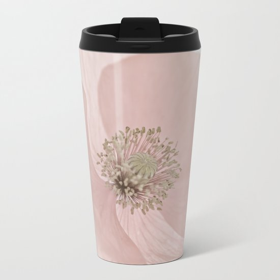 Poppy Metal Travel Mug