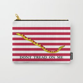 Don't Tread On Me -- First Navy Jack Carry-All Pouch