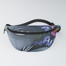 girl letters grafitti Fanny Pack