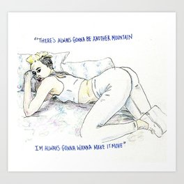 Miley  Art Print
