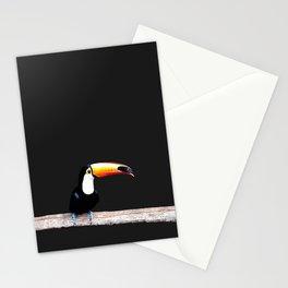 toucano black Stationery Cards