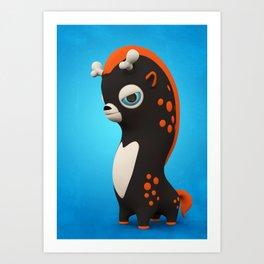 Dark Wippo Art Print