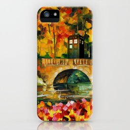 TARDIS DR WHO iPhone Case