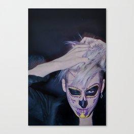 I, MEXICAN SKULL Canvas Print