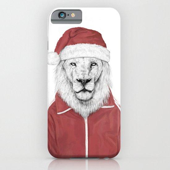 Santa lion iPhone & iPod Case