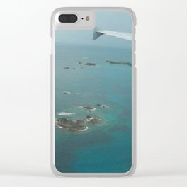 Bermuda From the Sky Clear iPhone Case