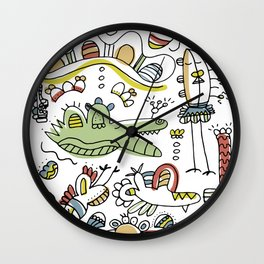Perfect Duets Wall Clock