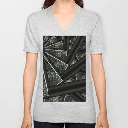 Shadow of Time Unisex V-Neck