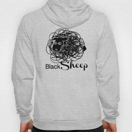 Black Sheep w/blk face Hoody