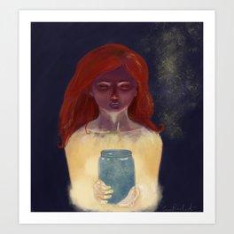 Made From Starlight Art Print