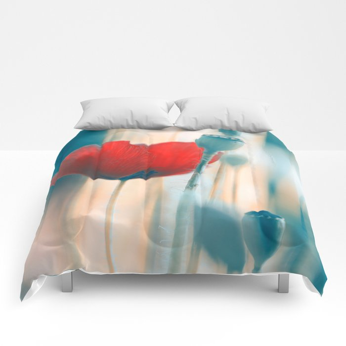Poppies radiance Comforters