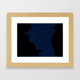 The Secrets Above Framed Art Print
