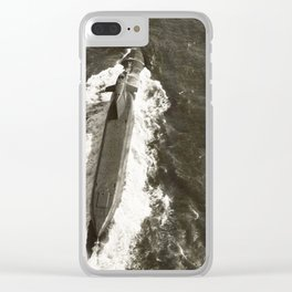 USS PATRICK HENRY (SSBN-599) Clear iPhone Case