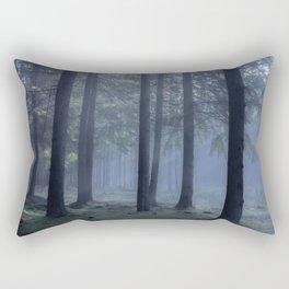 Forest atmosphere - Kessock, The Highlands, Scotland Rectangular Pillow