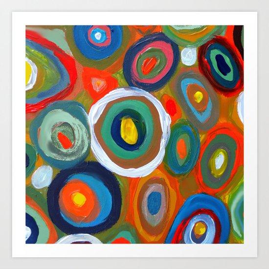 bulles Art Print
