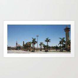 Temple of Luxor, no. 21 Art Print