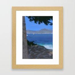 Saint Jean Cap Ferrat Framed Art Print
