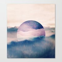 sleep Canvas Prints featuring sleep. by Monika Traikov