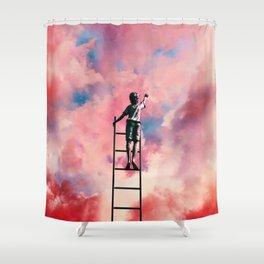 Cloud Painter Shower Curtain