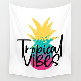 tropical vibes Wall Tapestry