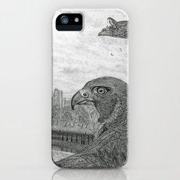 The Urban Peregrine iPhone Case
