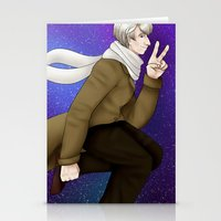 russia Stationery Cards featuring APH- Russia by sleuthysaturn