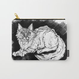 Dio the Maine Coon Carry-All Pouch