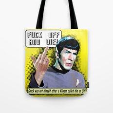 Spock.... Tote Bag