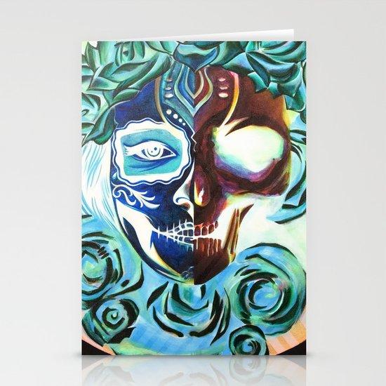 SkullFace Stationery Cards