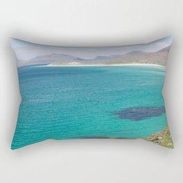 Beach 3 Lewis and Harris 5 Rectangular Pillow