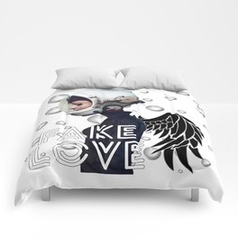 FAKE LOVE (Tear) Comforters