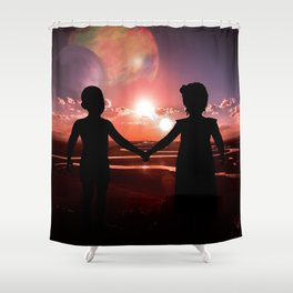 Muse exogenesis part 3 Shower Curtain